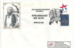 USA. Chef Chippewa.  Strandquist   . Marshall County, Minnesota.  Sur Lettre - American Indians