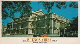 Buenos Aires Teatro Colon - Atypical Format Postcard -181 - Argentina