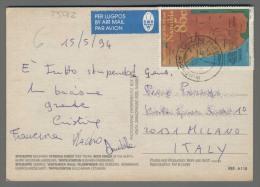 T5012 NAMIBIA Postal History 1994 INCORPORATION OF WALVIS BAY 85 C (m) - Namibia (1990- ...)