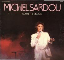 * 3LP - Box *  MICHEL SARDOU - COFFRET 3 DISQUES (France 1974) - Vinylplaten