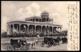 RARE !! PERU - LIMA - HIPODROMO DE SANTA BEATRIZ 1909 - hypodrome - horse races - champ de courses