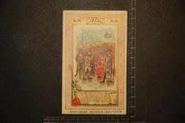 Chromo, Image, Publicité, Chocolat Guérin Boutron Coutumes Et Traditions L'Epreuve De La Tartine - Guerin Boutron