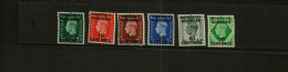 MOROCCO AGENCIES - KGVI – 1937 – 6 Stamps – MM - Unclassified