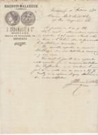 Gironde, Bordeaux, Hachoirs Malaxeurs J. Sénamaud & Cie 1870 - Alimentos