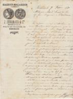 Gironde, Bordeaux, Hachoirs Malaxeurs J. Sénamaud & Cie 1870 - Francia