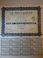 Actions Titres LE MOLYBDENE émis Le 15 Juin 1930 à Paris - Industrie