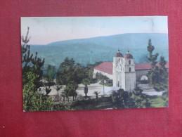 California> Santa Barbara   Hand Colored--- Mission    ref 1494