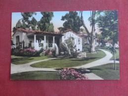 California> Santa Barbara   Hand Colored--- El Encanto Hotel   ref 1494