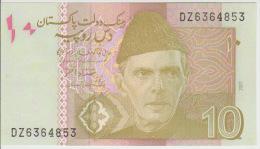 Pakistan 10 Rupies 2007 Pick 45 UNC - Pakistan