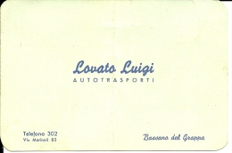 Biglietto Da Visita Autotrasporti A Bassano Del Grappa - Cartoncini Da Visita