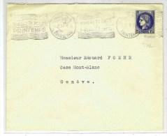 FRANCE, OBLITERATIONS MECANIQUES: Timbre N° 372 Obl. Paris Bureau De Poste Du Printemps En 1931 - Oblitérations Mécaniques (Autres)