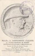 ROSTRENE - MEDAILLON DE JAFFRENOU PAR JULES CHARLES LE BOZEC - Autres Communes