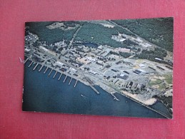 Connecticut Groton  Naval Submarine Base Aerial View   Ref 1495 - United States