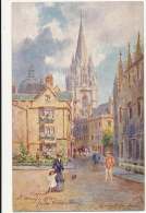 Raphael Tuck & Sons, No. 7643: Oxford, St. Mary's Spire From Oriel Street. A/S By H. B. Wimbush - OILETTE - Tuck, Raphael
