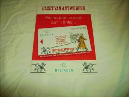 **GAZET   VAN  ANTWERPEN ** - Advertising