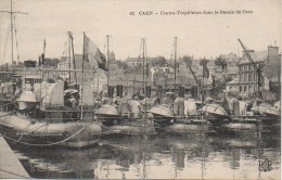 14 CAEN  - Contre-Torpilleurs Dans Le Bassin De Caen - Caen
