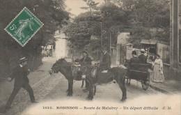 92 ROBINSON  Route De Malabry - Un Départ Difficile - Le Plessis Robinson