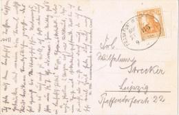 10338. Postal FULDA (Alemania Reich) 1917. Bahnpost. Ambulant Frankfurt Eisenach - Cartas