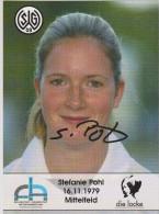 Original Women Football Autograph SG Wattenscheid 09 Team 2004 /05 STEFANIE POHL - Autographes