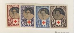 ROUMANIE 1945 CROIX-ROUGE   YVERT N°819/22  NEUF MH* - Cruz Roja