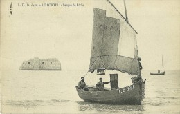 LE PORTEL 420 BARQUE DE PECHE ED. LBD  ECRITE CIRCULEE 1908 - Le Portel