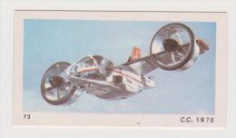 MONTY GUM DUTCH TRADING CARD 1970 Sci Fi TV Series UFO - Altri