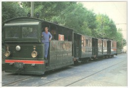 LOBBES - Tram à Vapeur à Lobbes (Pont Du Nord) - Lobbes