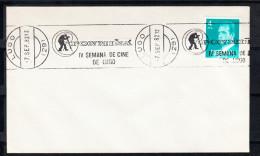 LUGO 1982. FONMIÑA.IV SEMANA DE CINE DE LUGO  RODILLO PUBLICITARIO. CN 2518
