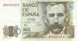 BILLETE DE ESPAÑA DE 1000 PTAS DEL 23/10/1979 SERIE J CALIDAD MBC+ - [ 4] 1975-… : Juan Carlos I