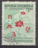 AUTRICHE Mi.nr.:1027 Städtebaukongress Wien  1956 OBLITÉRÉS / USED / GESTEMPELD - 1945-.... 2de Republiek