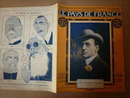 1917 LPDF: Prince CAROL;Désinfection  PLAIES;Incendie Salonique;Bethincourt;Mon Tfaucon;Chattancourt;ERCH EU; Senlis;USA - Français