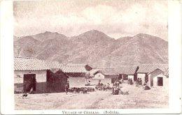 BOLIVIA - VILLAGE OF CHALLAS - Bolivia