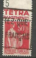 PAIX  PUB TETRA  N� 283 OBL / TYPE III TB
