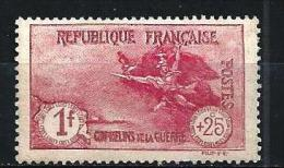 """YT 231  """" Série  Orphelins """" 1926-27 Neuf* - France"""