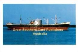 DONA KATERINA Chandris Line Cargo Ship 6x4 Inch Postcard Published 2007 - Piroscafi