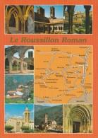 LE ROUSSILLON ROMAN SERRABONNE ELNE ARLES SUR TECH ST MICHEL DE CUXA ST MARTIN CANIGOU PRATS DE MOLLO PRADES VILLEFRANCH - Francia