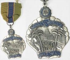 WW1, WW2, Vétérans American Legion, USA, MIAMI BEACH, 1960, 42nd Convention - Stati Uniti