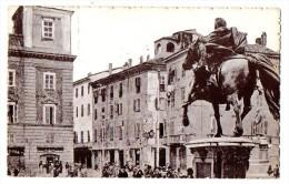 PIACENZA - PIAZZA CAVALLI E MONUMENTO A ALESSANDRO FARNESE - ANIMATA - FORMATO PICCOLO - C245