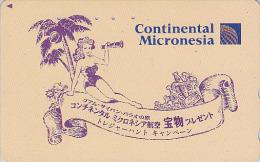 Télécarte Japon / 110-146297 - CONTINENTAL MICRONESIA - Air Plane Japan Phonecard Airlines - FLUGZEUG - Avion - 543 - Avions