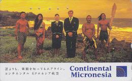 Télécarte Japon / 110-163322 - CONTINENTAL MICRONESIA - Air Plane Japan Phonecard Airlines - FLUGZEUG - Avion - 543 - Avions