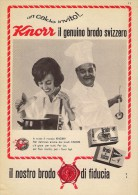 # BRODO KNORR UNILEVER Heilbronn Germany 1950s Advert Pubblicità Publicitè Reklame Food Broth Bouillon Broth Bruhe - Poster & Plakate