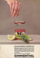 # CARNE SIMMENTHAL 1950s Advert Pubblicità Publicitè Publicidad Reklame Food Meat Viande Fleisch - Manifesti