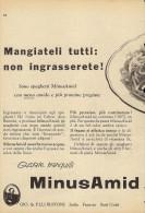 # PASTA BUITONI  MINUSAMID 1950s Advert Pubblicità Publicitè Publicidad Reklame Food Alimentation Alimentos Lebensmittel - Manifesti