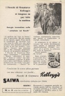 # CORN FLAKES KELLOGG´S 1950s Advert Pubblicità Publicitè Publicidad Reklame Food Breakfast Cereals - Manifesti