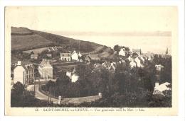 Cp, 22, Saint-Michel-en-Grève, Vue Générale Vers La Mer, Voyagée - Saint-Michel-en-Grève