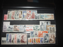 ANNEE COMPLETE FRANCE 1954 NSC **  40 TIMBRES YT 968 - 1007  ( YEAR SET JAHRGANG ) - 1950-1959