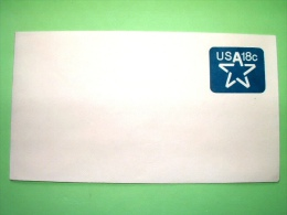 """USA 1981 Unused Pre Paid Cover """"star"""" - Lettres & Documents"""