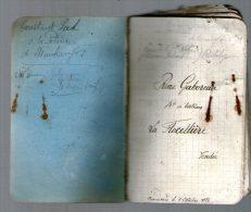 1934-1935 - Calepin Ayant Appartenu à René GABOREAU Marchand De Bestiaux à La Flocellière - 85 Vendée - Vieux Papiers