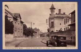 69 LYON Le Point Du Jour, Chemin De L'Etoile D'Alaï, Le Groupe Scolaire ; Voiture - Lyon