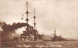¤¤  -  Bateaux De Guerre En 1917  -  Carte Photo  -   S.M.S.Preylsen . Auslaufen Des 2 Geschnaders   -  ¤¤ - Guerra